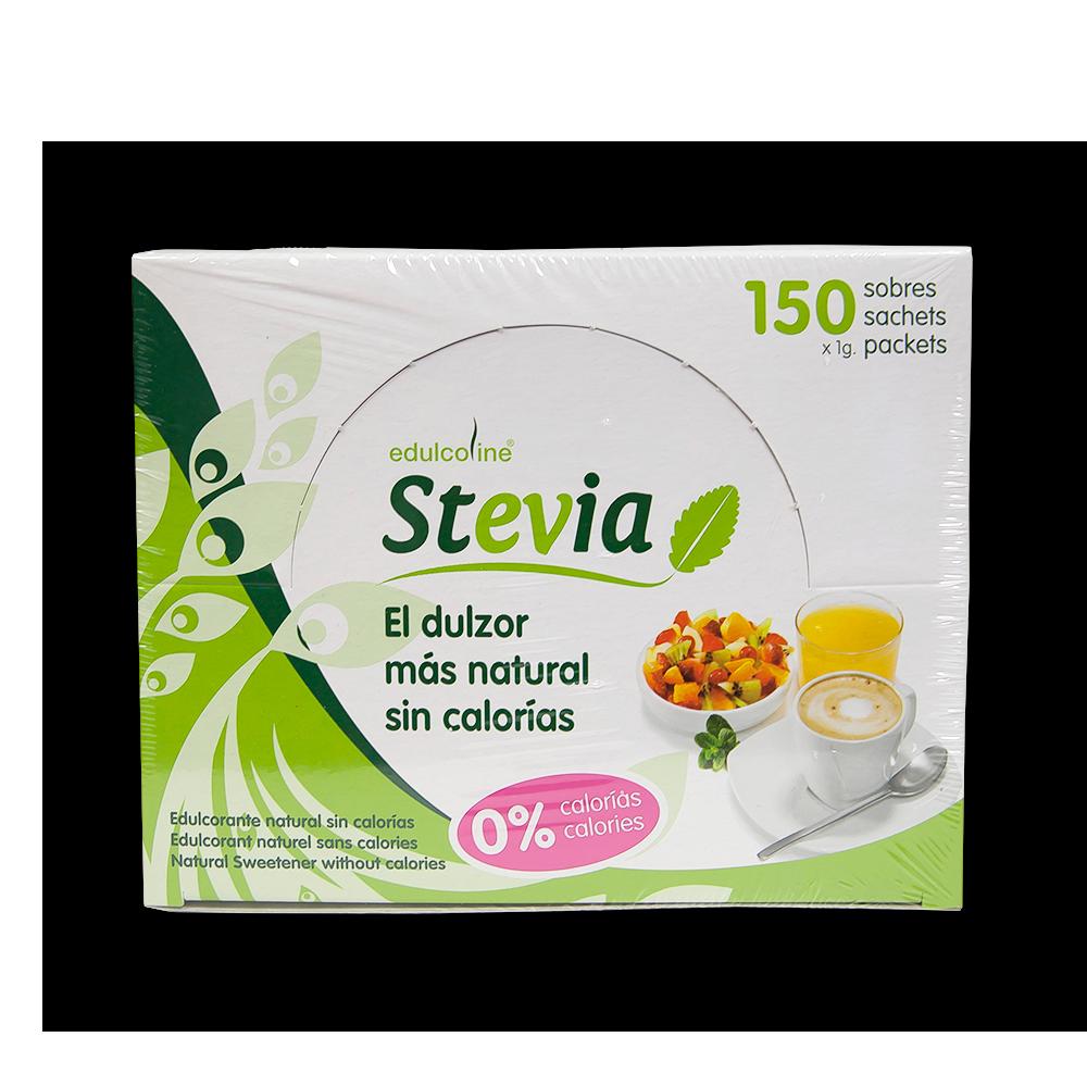 Edulcorante Stevia sobre 1gr caja 150 unidades