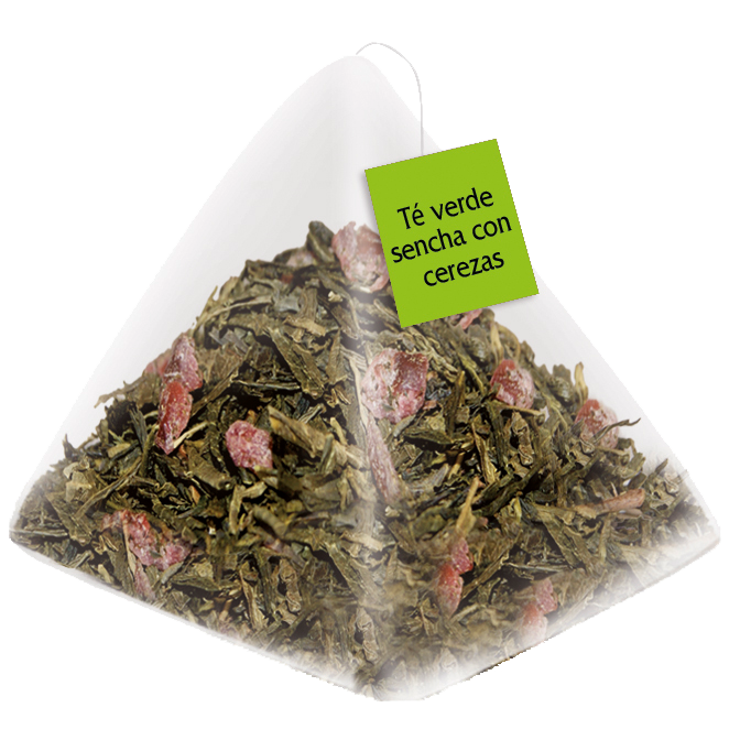 DItare Sencha Green Tea with Cherries 20 pyramids.