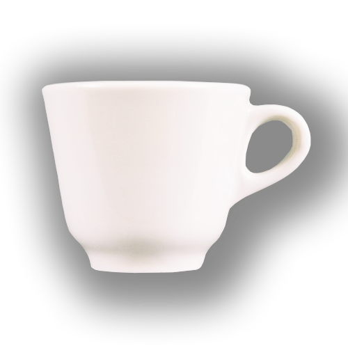 Black Coffee conical Cup 6 units.